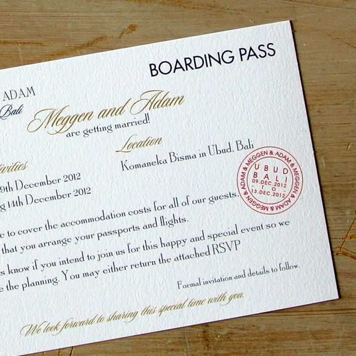 Boarding Pass Wedding Invitations Lovely Boarding Pass Wedding Invitations Little Flamingo