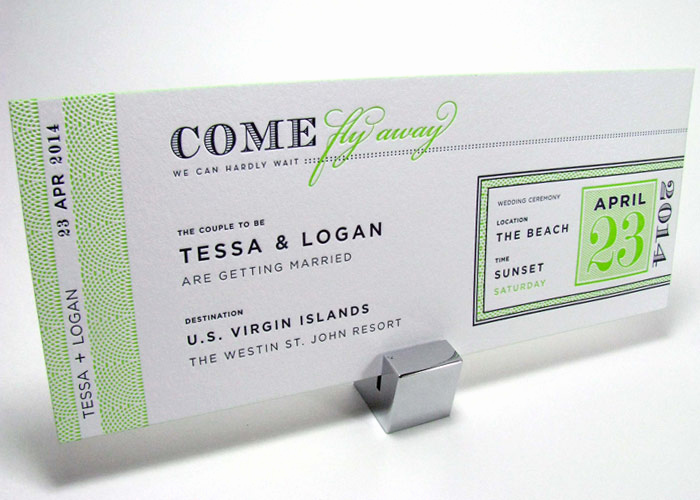 Boarding Pass Wedding Invitations Luxury Boarding Pass Wedding Invitations