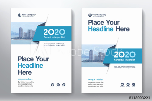 Book Cover Design Template Best Of Blue Color Scheme with City Background Business Book Cover