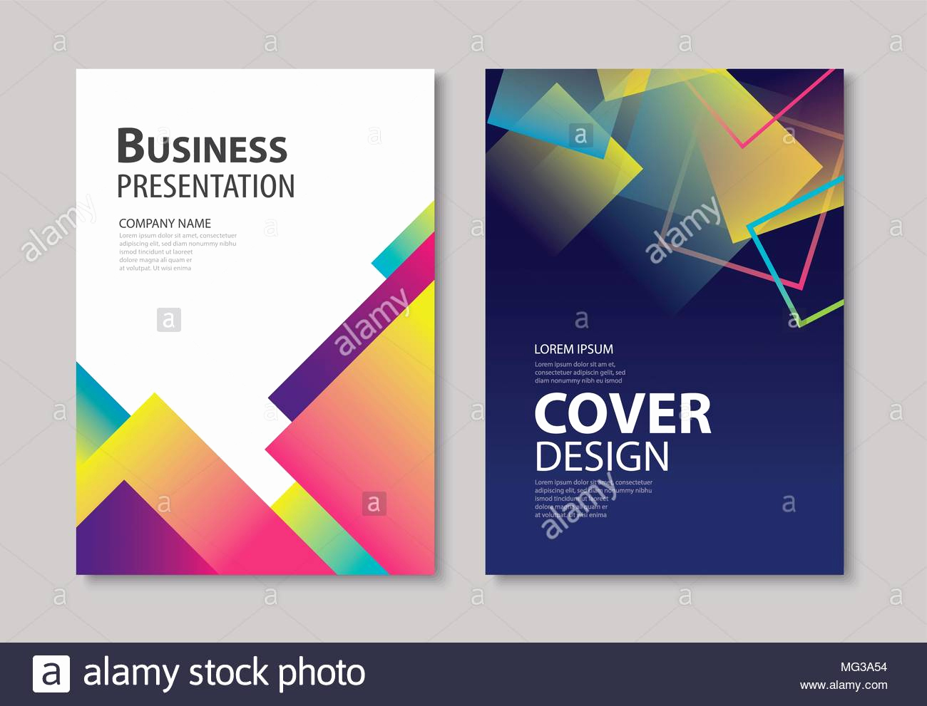 Book Cover Design Template Inspirational Abstract Gra Nt Modern Geometric Flyer and Poster Design
