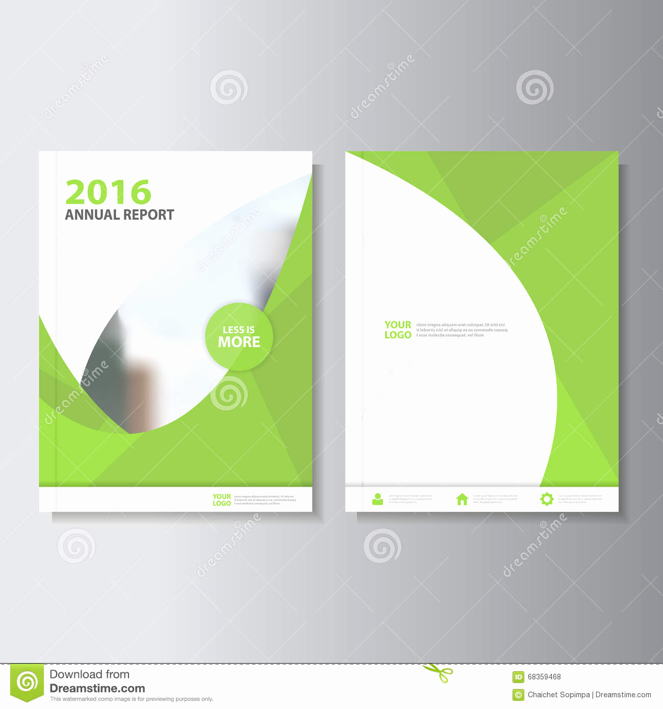 Book Cover Design Template Lovely Eco Green Vector Annual Report Leaflet Brochure Flyer