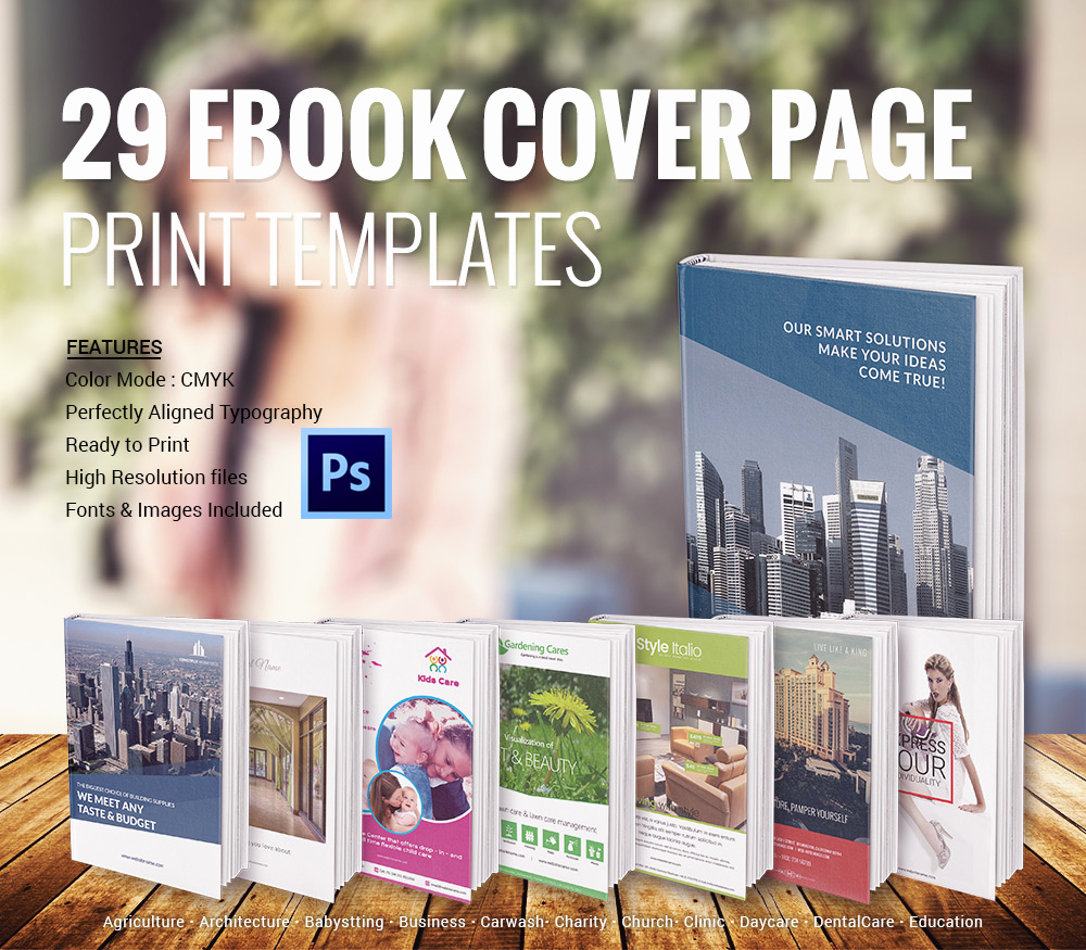 Book Cover Design Template Luxury 15 Ebook Cover Designs Download