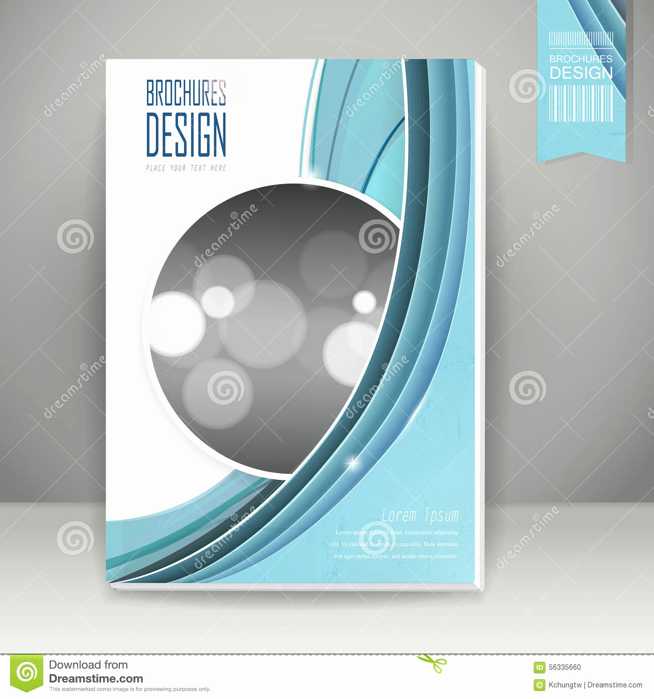 Book Cover Design Template New Elegant Book Cover Template Design Stock Vector
