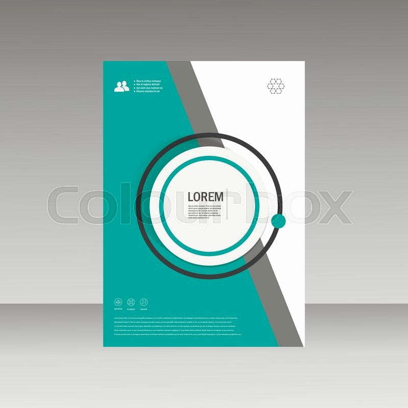 Book Cover Design Templates Best Of Vector Leaflet Brochure Flyer Template