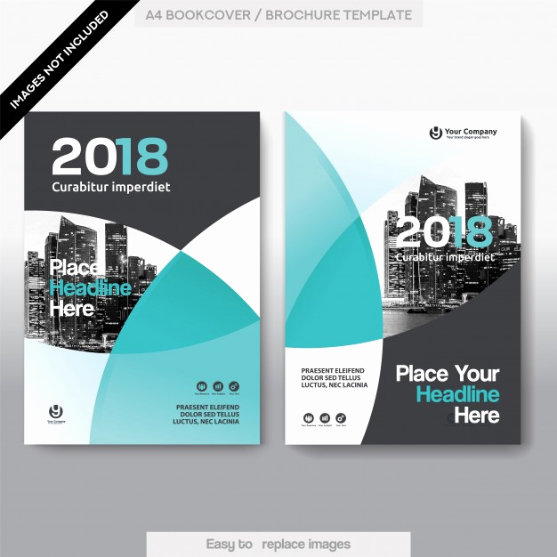 Book Cover Design Templates Elegant City Background Business Book Cover Design Template Vector
