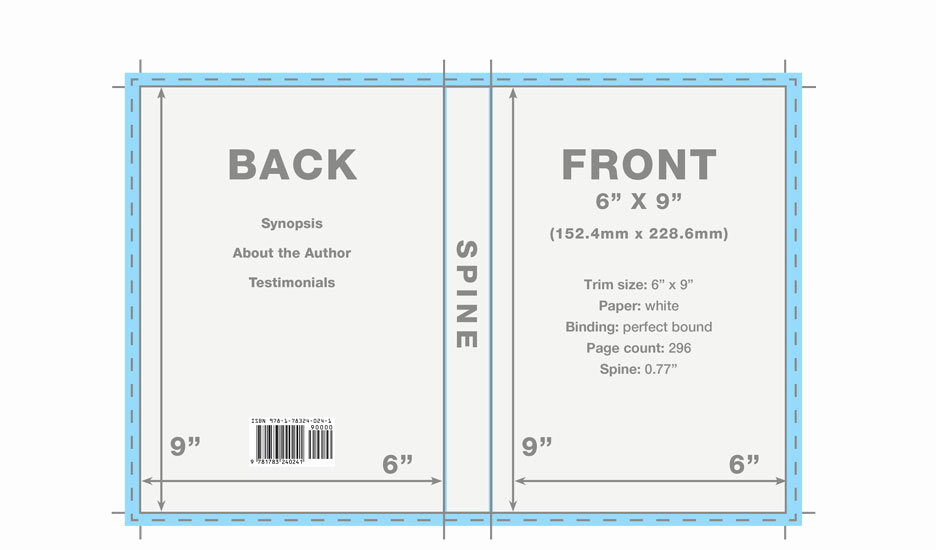 Book Cover Template Free Awesome Book Cover Template