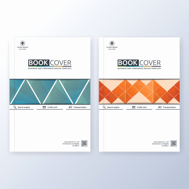 Book Cover Template Free Beautiful Book Cover Template Vector