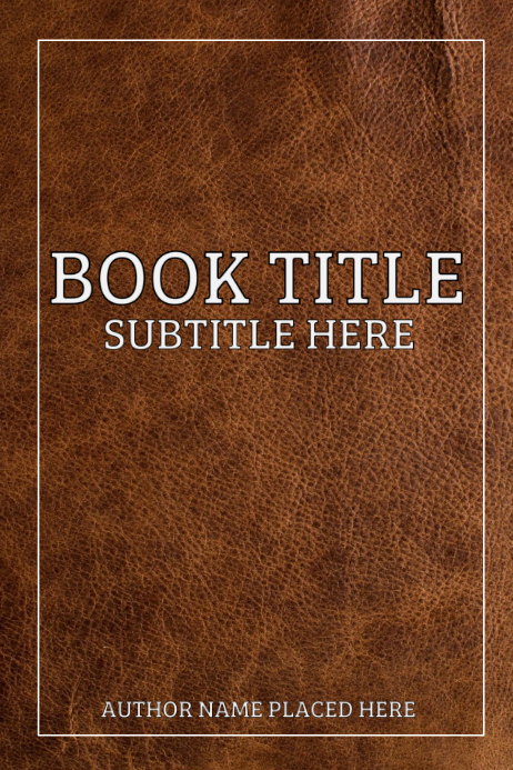 Book Cover Template Free Inspirational Book Cover Template
