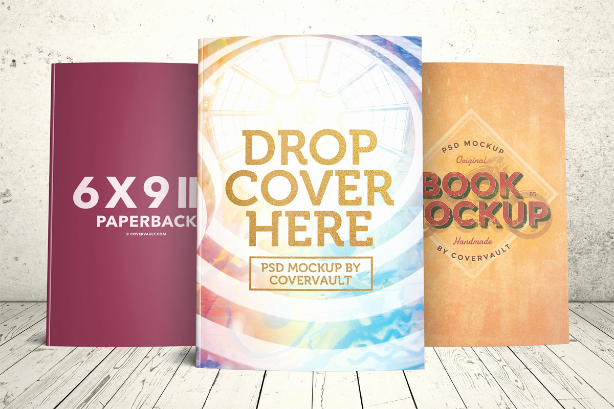 Book Cover Template Free Luxury Covervault Free Psd Mockups for Books and More