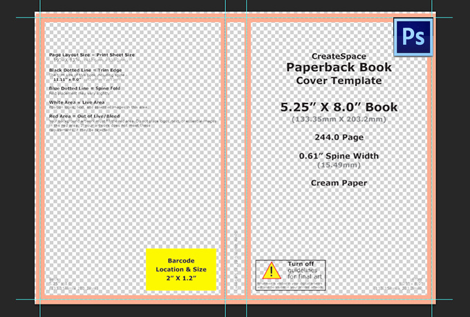 Book Cover Template Photoshop Beautiful Create You A Custom Photoshop Template to Design Your