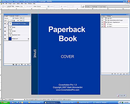 Book Cover Template Photoshop Best Of How to Create A Paperback Ebook Cover Using Shop