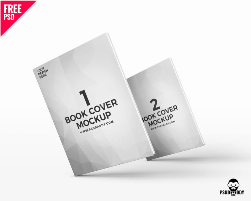 Book Cover Template Photoshop Elegant Book Mockup Free Psd – Psddaddy