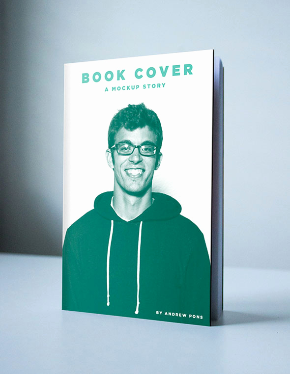 Book Cover Template Photoshop Luxury 38 Book Psd Mock Up Templates