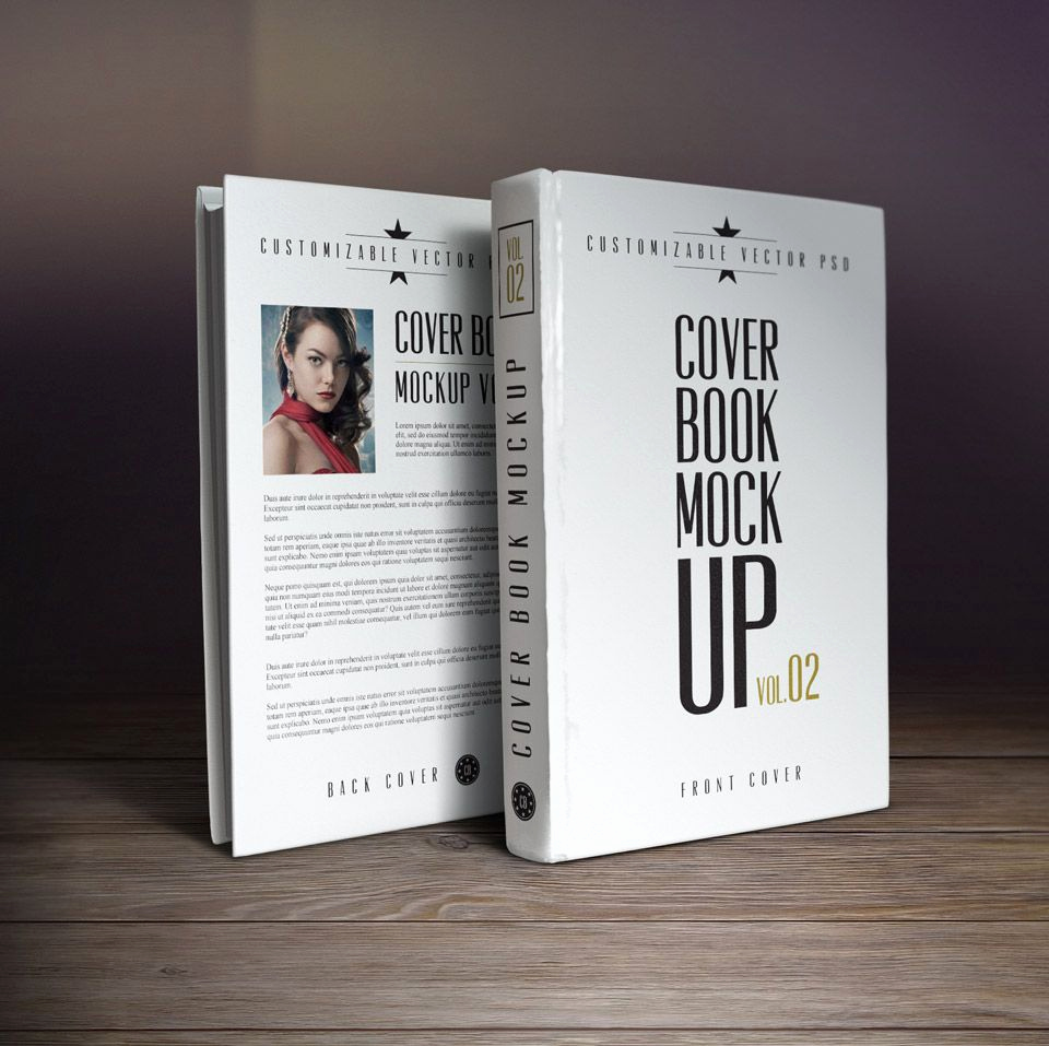 Book Cover Template Photoshop Unique 10 Book Cover Psd Mockup Templates