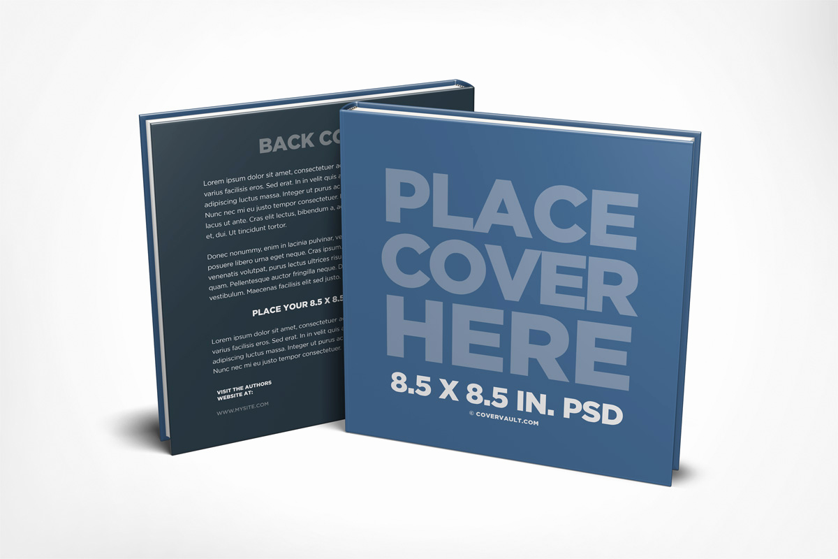 Book Cover Template Psd Elegant Covervault Free Psd Mockups for Books and More