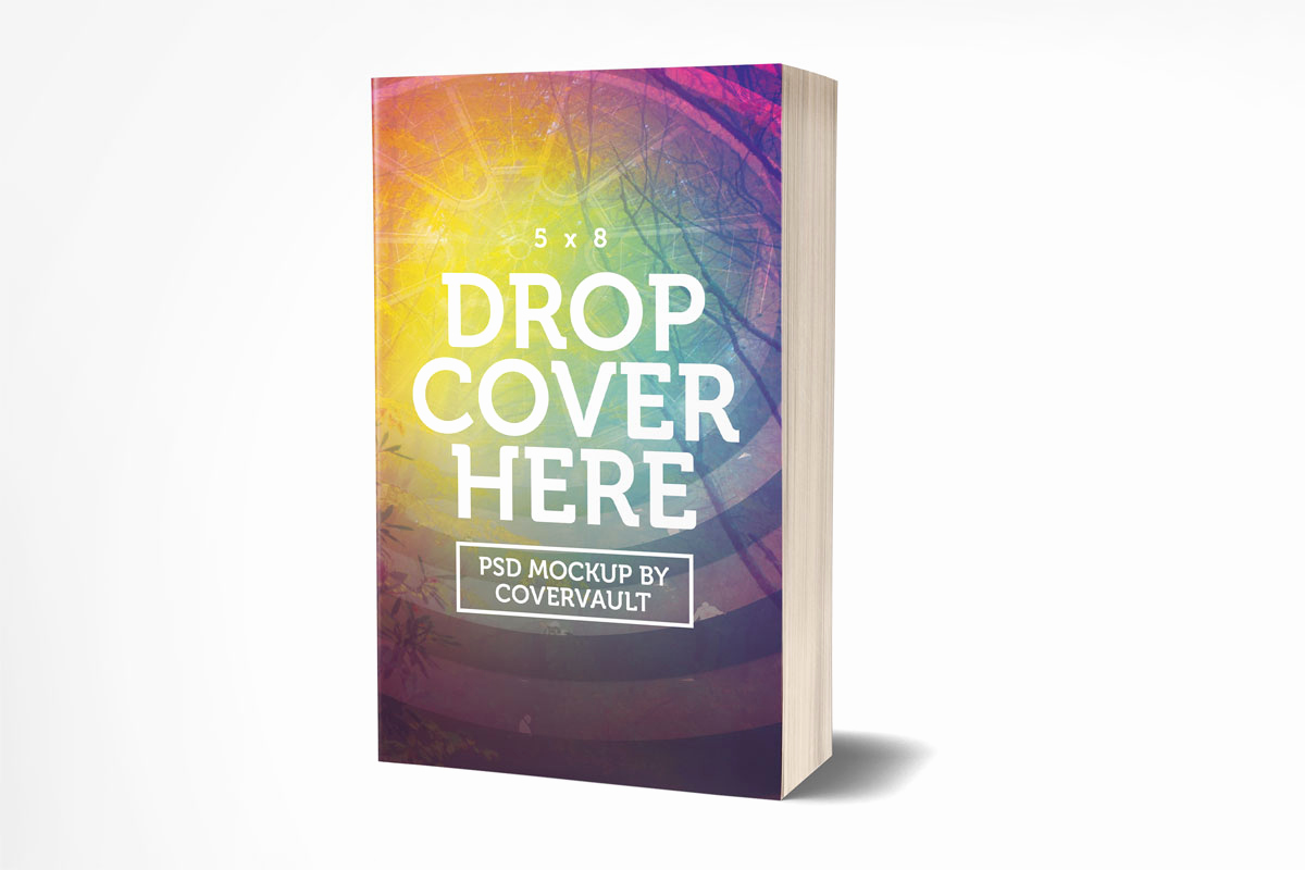 Book Cover Template Psd Lovely Covervault Free Psd Mockups for Books and More