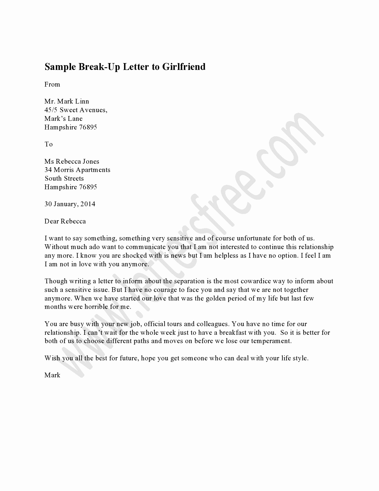 Break Up Letter to Boyfriend New Writing A Breakup Letter is the Most Convenient Way to
