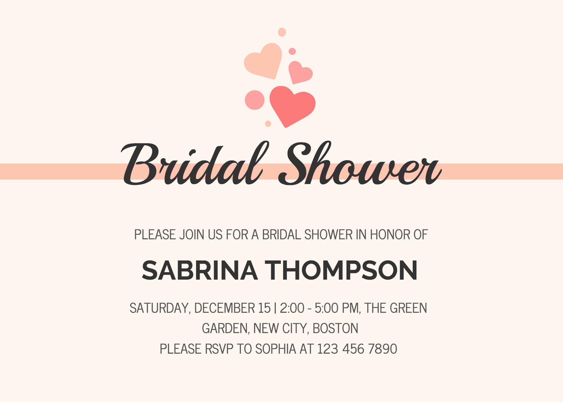 Bridal Shower Invitation Template Fresh 19 Diy Bridal Shower and Wedding Invitation Templates