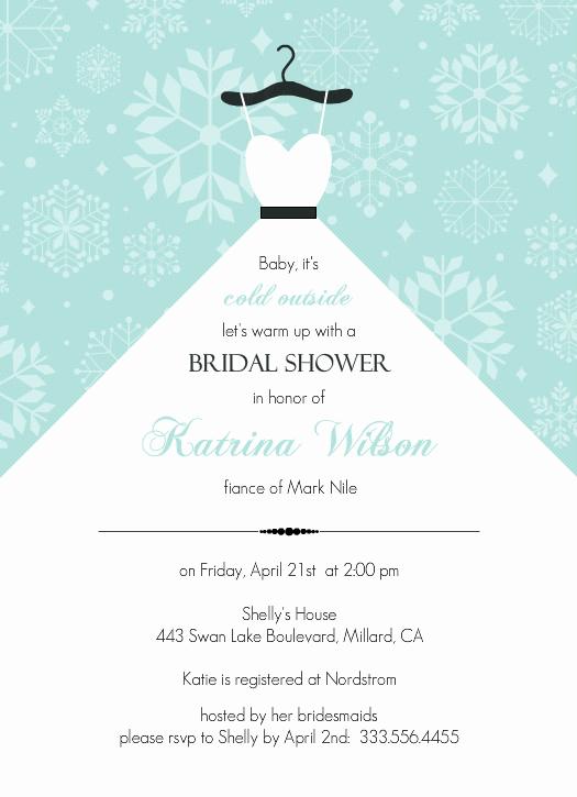 Bridal Shower Invitation Template Inspirational Bridal Shower Invitation Templates