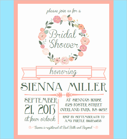 Bridal Shower Invitation Template Luxury Manki Design – Find the Design that S Just Right for Your