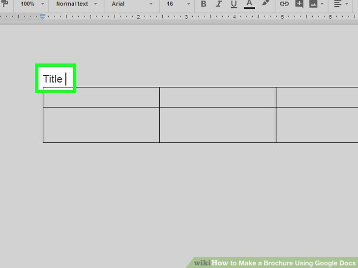 Brochure On Google Docs Best Of How to Make A Brochure Using Google Docs with