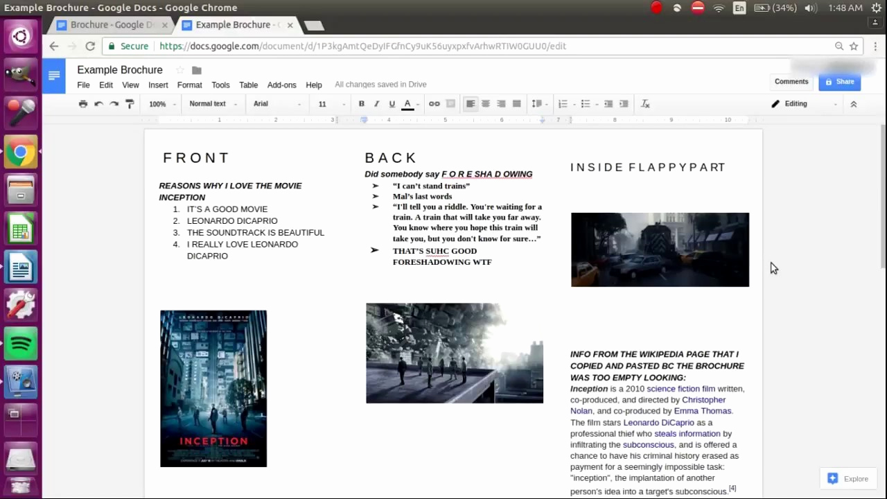 Brochure On Google Docs Fresh How to Make A Brochure On Google Docs