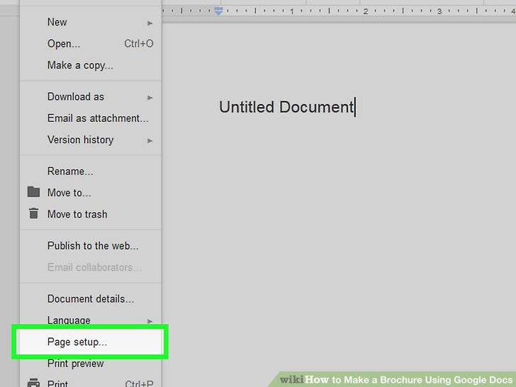 Brochure On Google Docs Luxury How to Make A Brochure Using Google Docs with