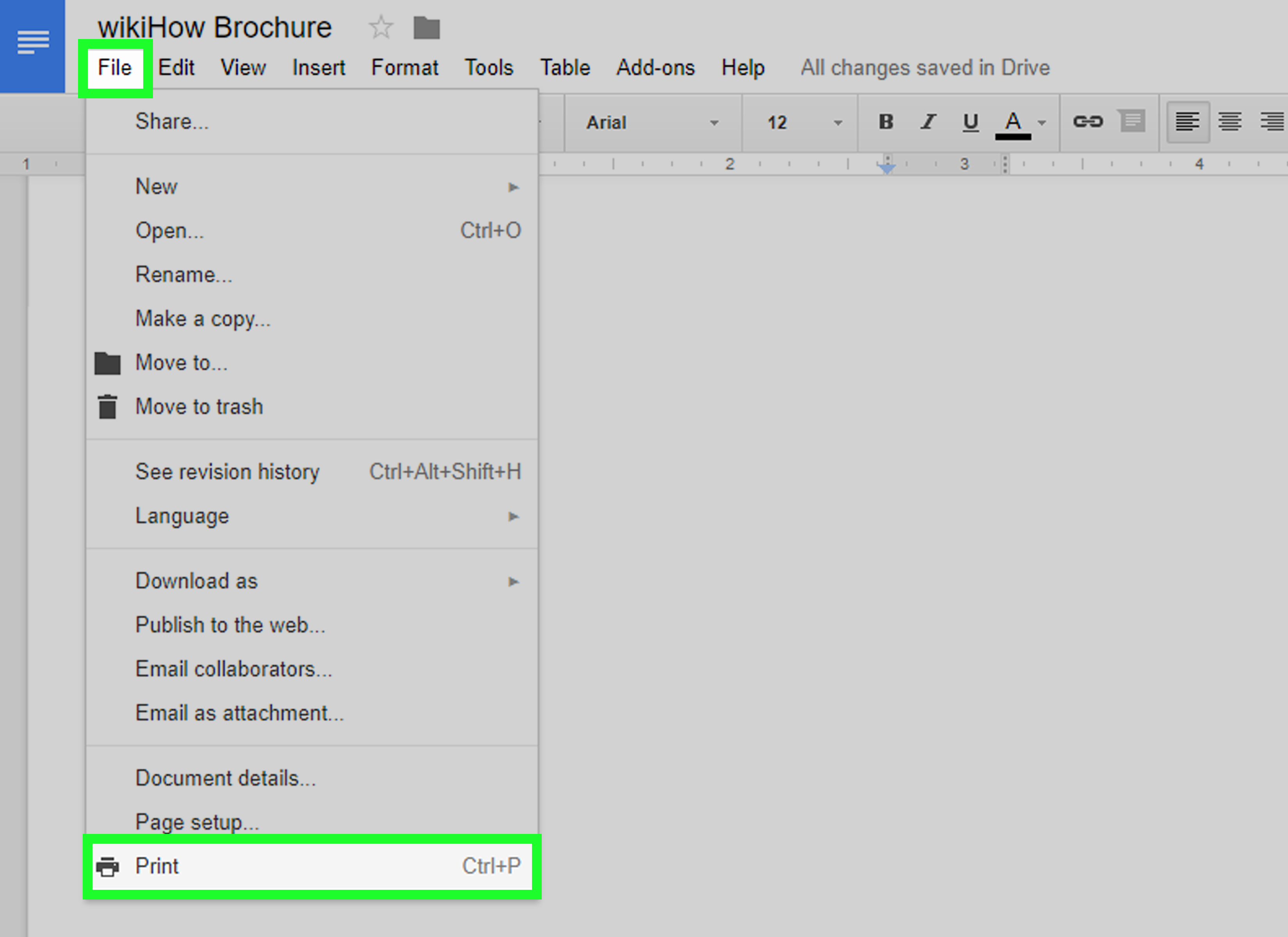 Brochure Template for Google Docs Awesome How to Make A Brochure Using Google Docs with