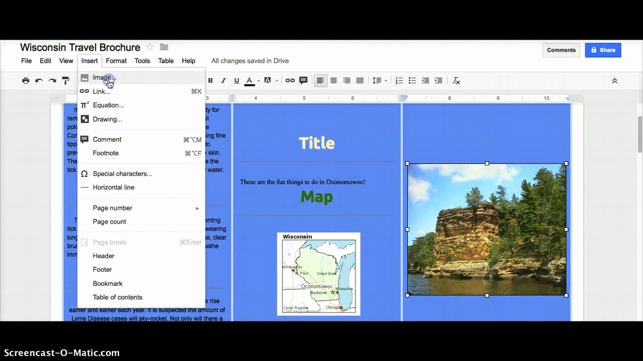 Brochure Template for Google Docs Inspirational Google Docs Brochure Template File Free Download