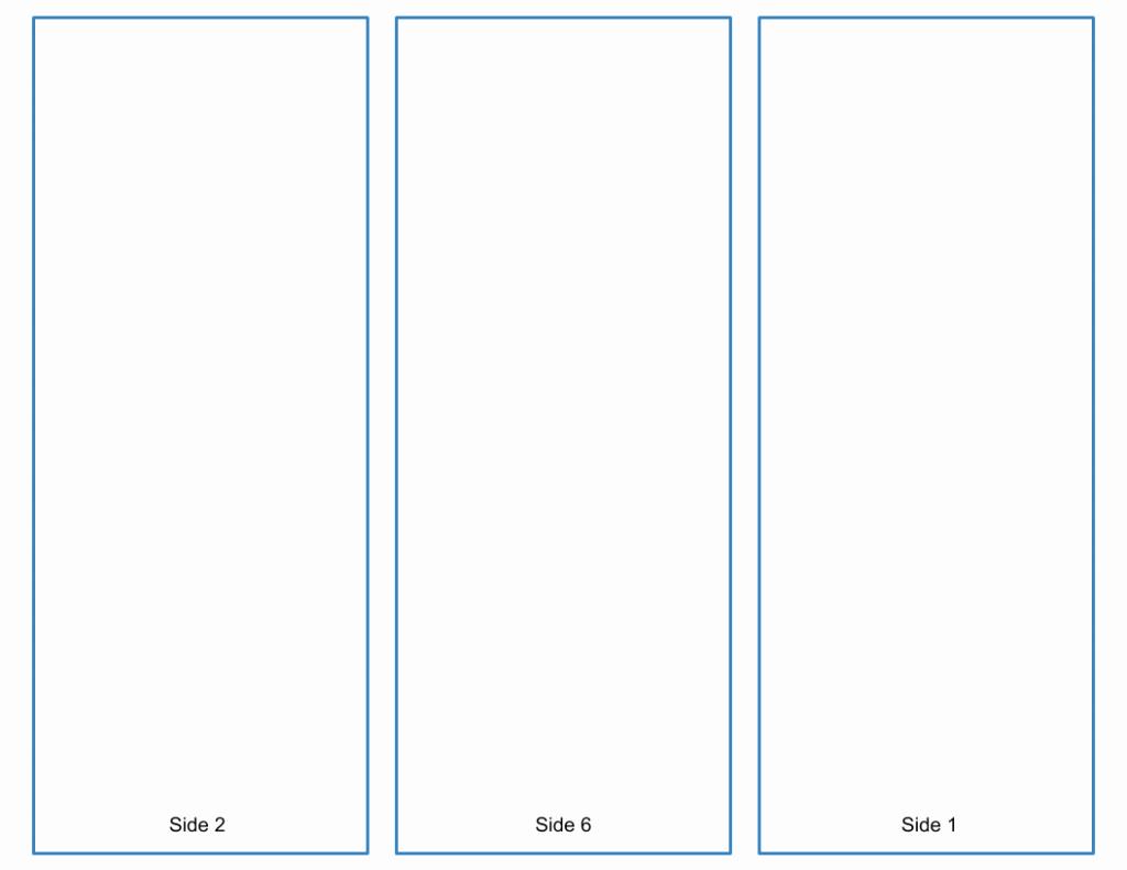 Brochure Template for Google Docs Luxury Blank Tri Fold Brochure Template Google Slides Free Download