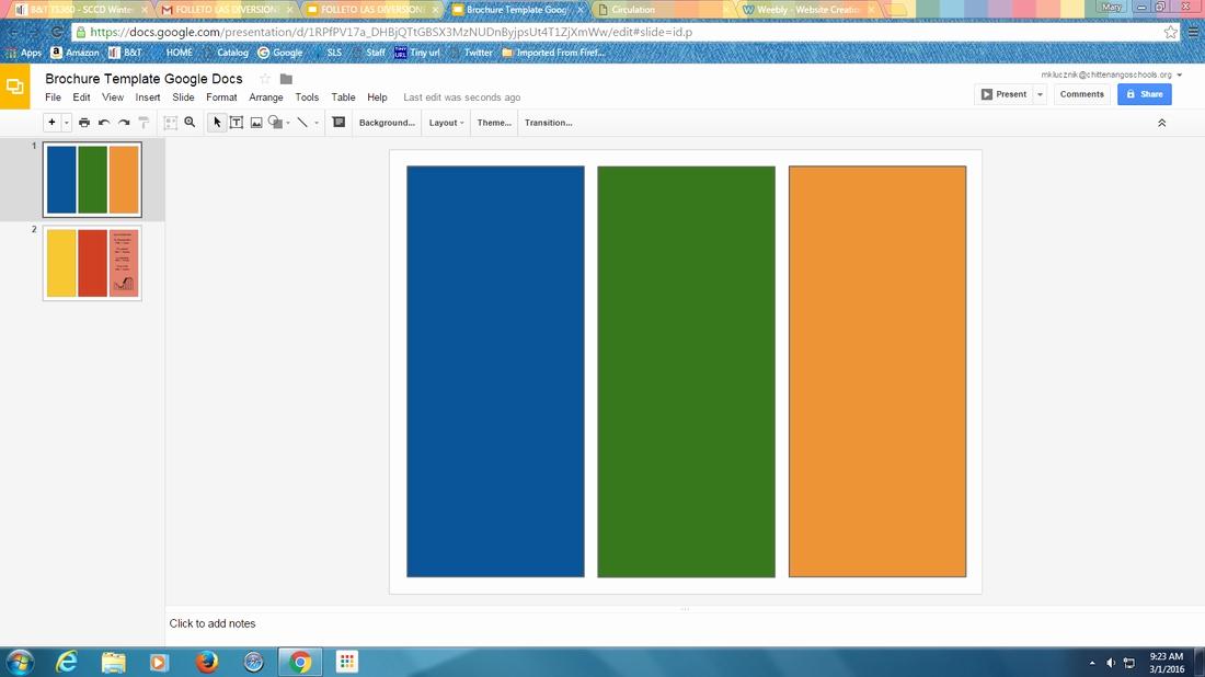 Brochure Template for Google Docs New Google Slides Brochure Template 2018