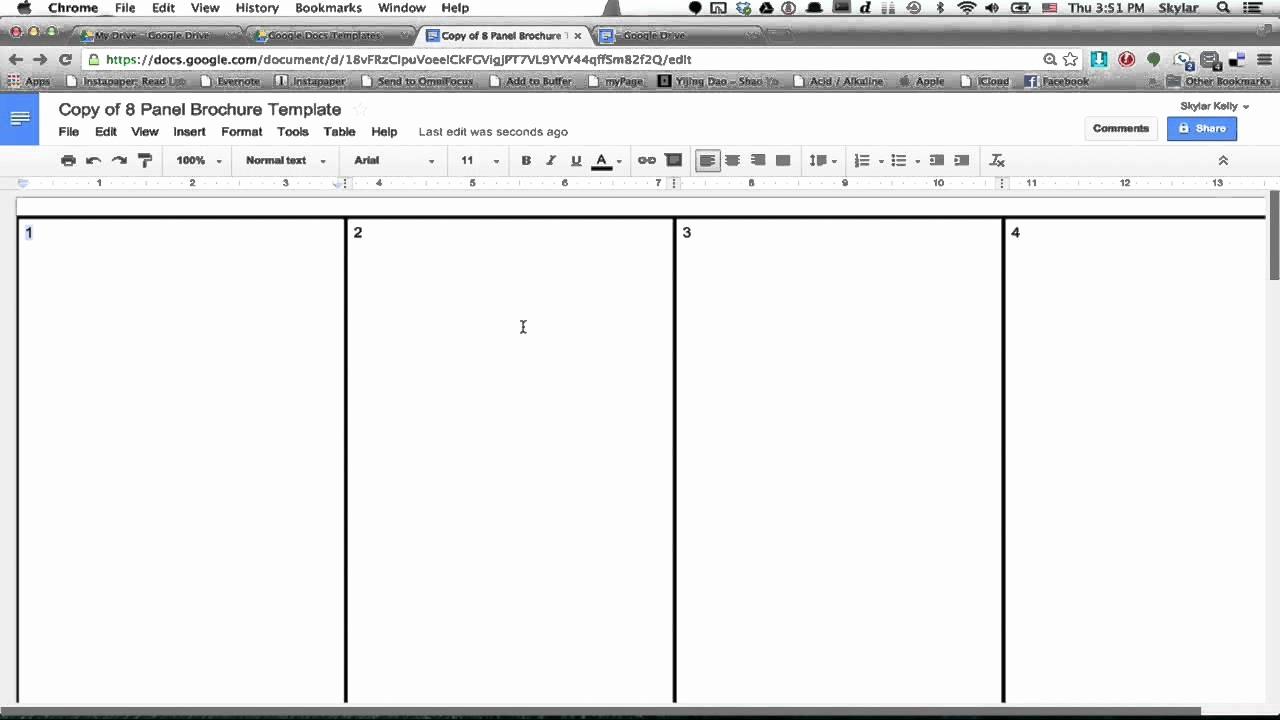 Brochure Templates for Google Docs Best Of Google Docs Brochure Template