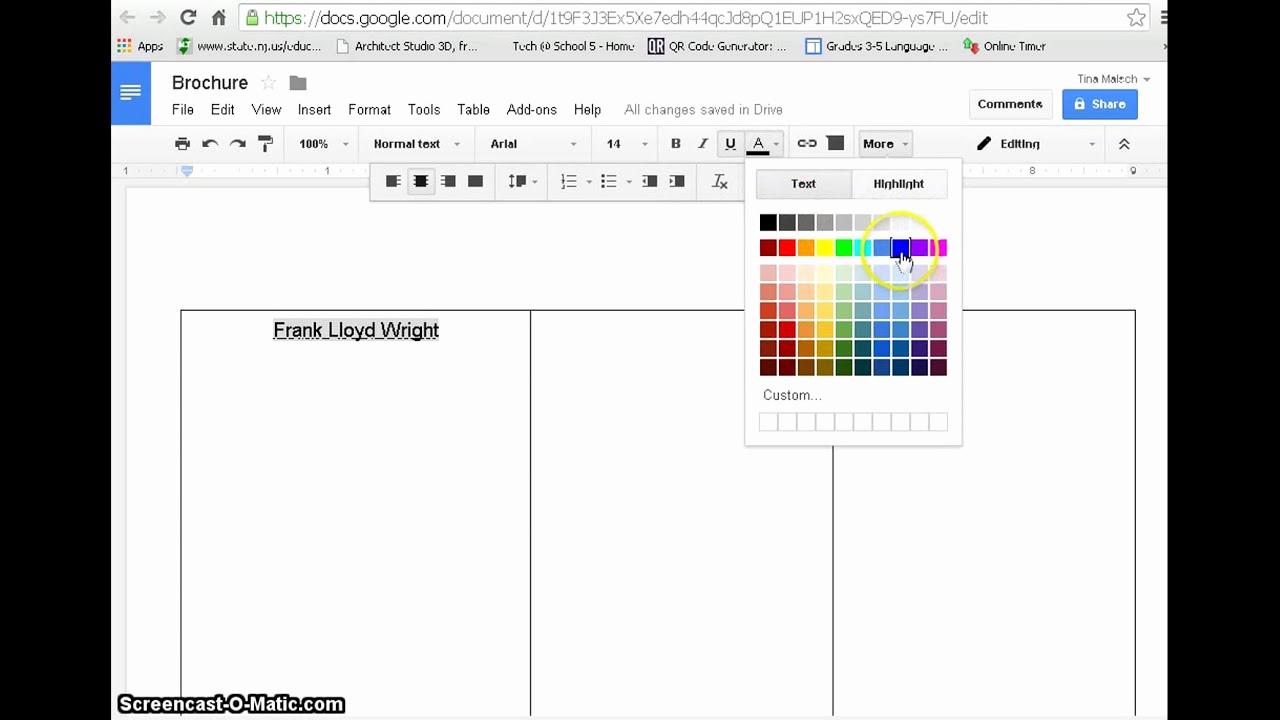 Brochure Templates for Google Docs Elegant Create A Brochure with Google Docs with Example