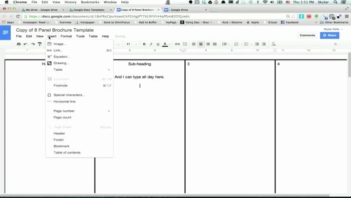 Brochure Templates for Google Docs Luxury Google Docs Brochure Template Beepmunk