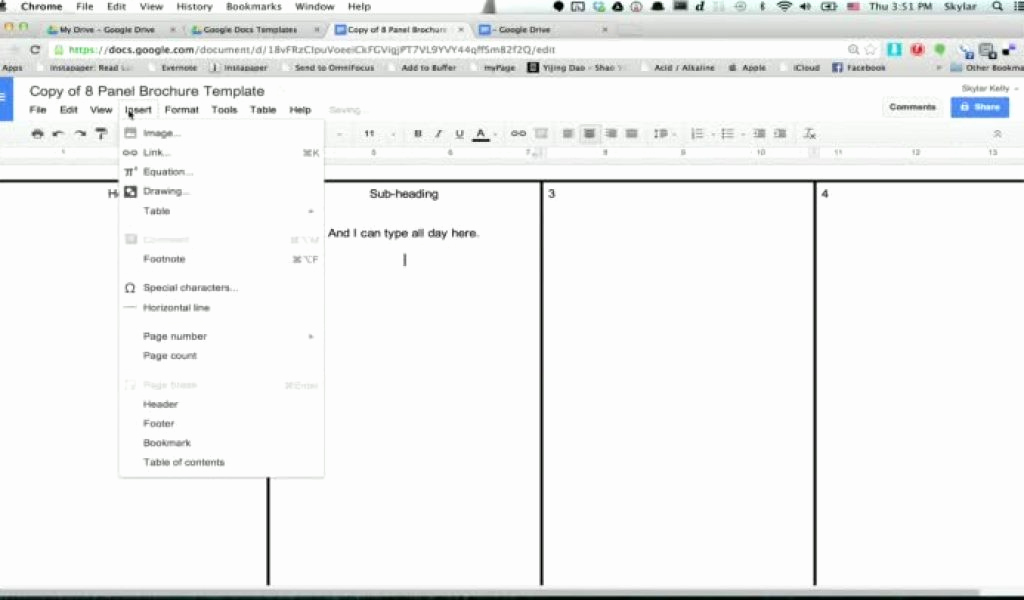 Brochure Templates Google Doc Elegant Brochure Template Google Docs Wildlifetrackingsouthwest