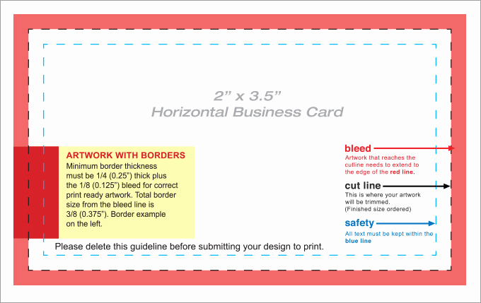 Buisness Card Templates for Word Inspirational 44 Free Blank Business Card Templates Ai Word Psd