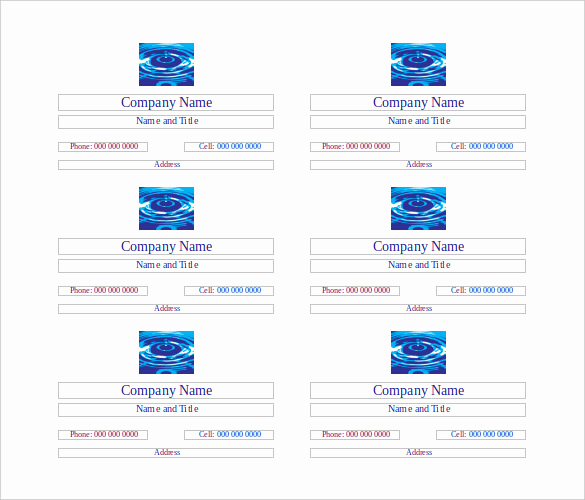 Buisness Card Templates for Word Lovely 25 Free Business Cards – Free Word Pdf Psd format