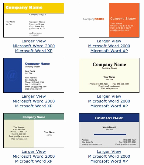 Buisness Card Templates for Word Luxury Microsoft Word Business Card Template