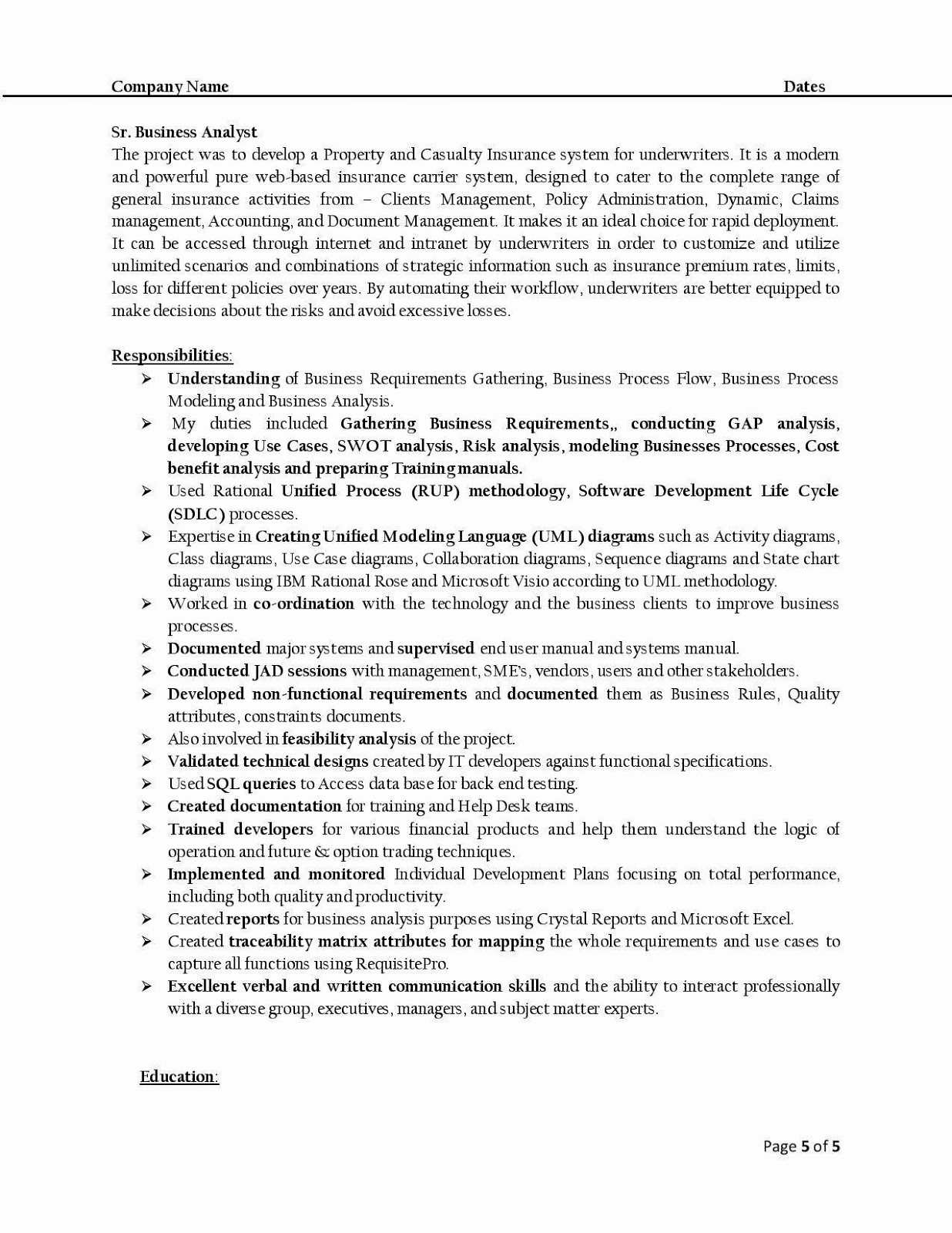 Business Analyst Resume Examples Fresh H1b Sponsoring Desi Consultancies In the United States