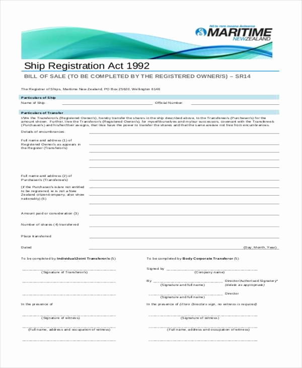 Business Bill Of Sale Best Of Sample Business Bill Of Sale forms 7 Free Documents In