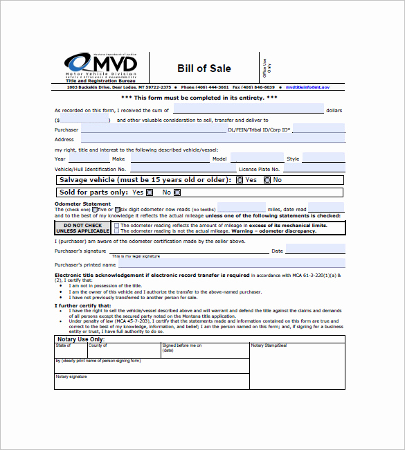 Business Bill Of Sale Luxury Car Bill Of Sale – 10 Free Word Excel Pdf format
