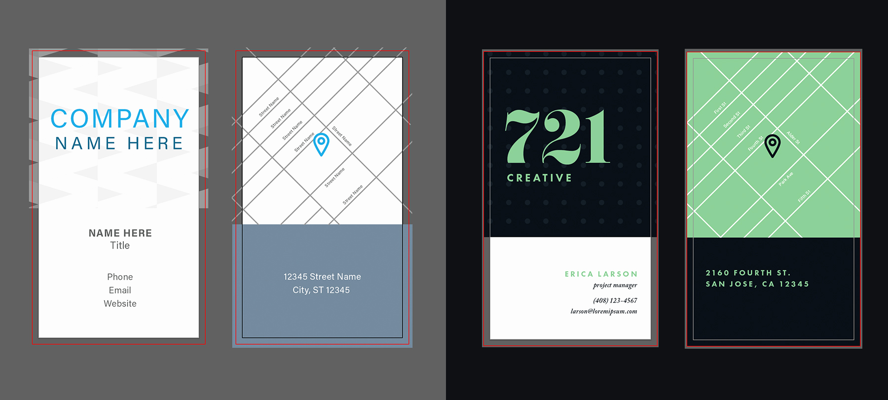 Business Card Illustrator Template Awesome Customize An Illustrator Template today