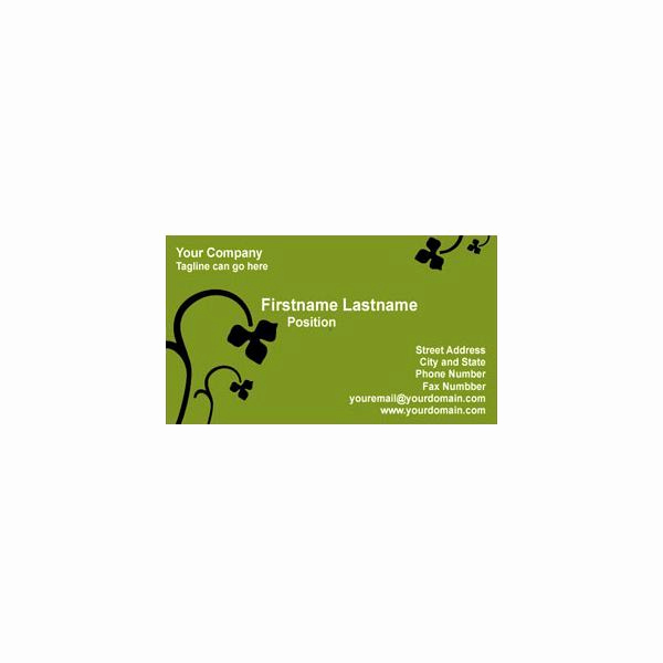 Business Card Illustrator Template Best Of Adobe Illustrator Business Card Template Options Just