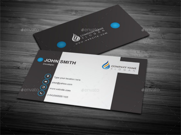 Business Card Illustrator Template Fresh 51 Cool Business Card Templates Word Pages Ai Psd