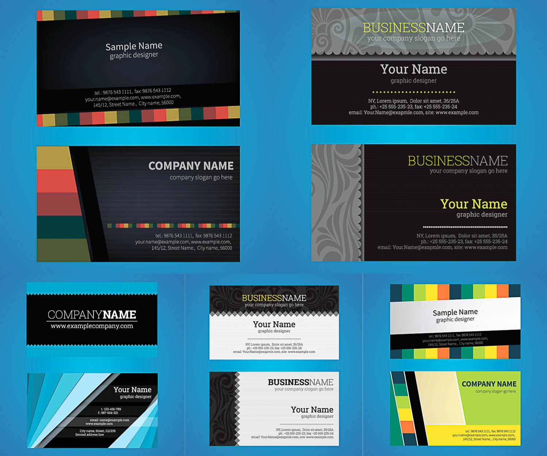 Business Card Illustrator Template Inspirational Business Card Template Illustrator Free