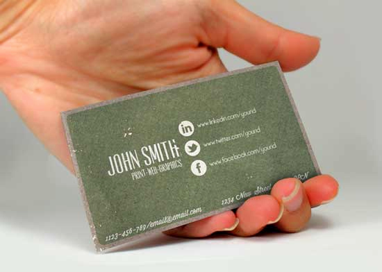 Business Card social Media Best Of social Media Business Cards 20 Creative Examples