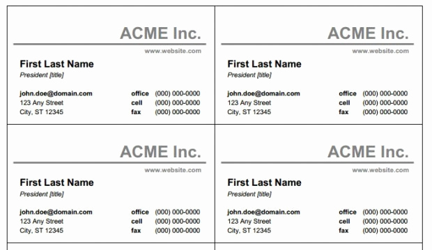 Business Card Template Microsoft Word Beautiful Microsoft Word and Business Card Template Free