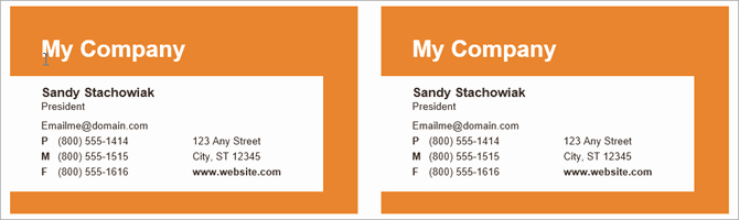 Business Card Template Microsoft Word Fresh How to Make Free Business Cards In Microsoft Word with