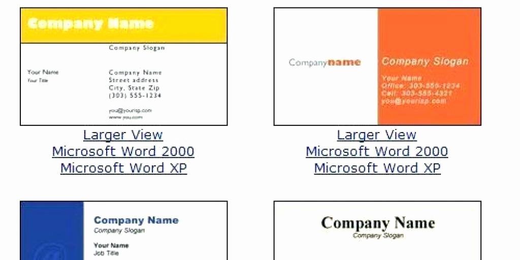 Business Card Template Microsoft Word New Business Cards Templates Free Word – How to Make Business