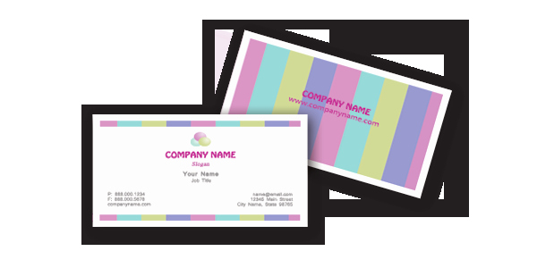 Business Card Template Microsoft Word Unique Chic Business Cards